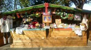casetta mercatino di Natale