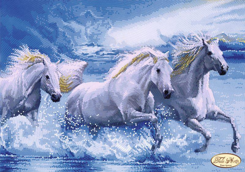 Terzina di cavalli