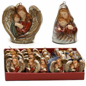 Madonna con Gesù. Decorazione di Natale