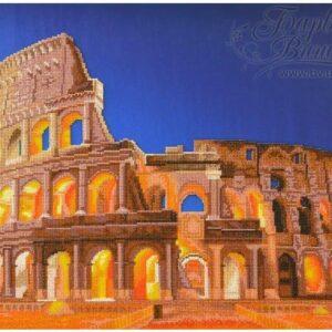 """""""Colosseo"""". Schema ricamo a perline"""