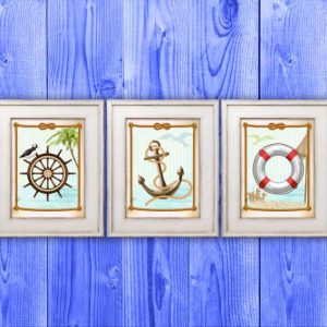 """""""Miniature a tema marino"""". Schemi ricamo a perline"""