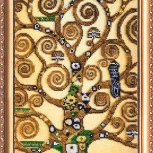 """""""L'albero della vita"""" di Gustav Klimt. Kit ricamo a perline"""