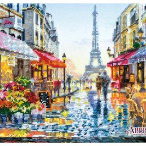 """""""Passeggiata a Parigi"""". Kit ricamo a perline"""