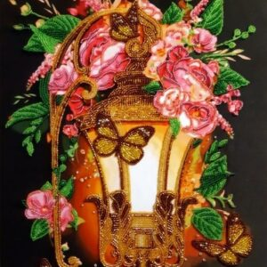 """Bellissima lanterna""-01. Kit ricamo a perline"