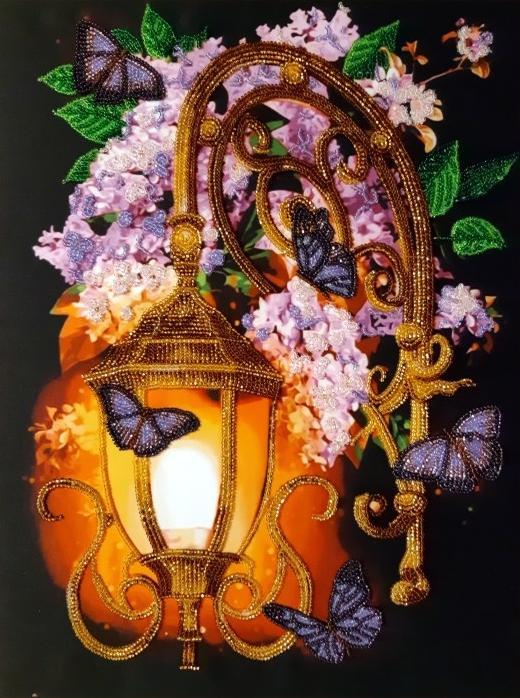 """Bellissima lanterna""-03. Kit ricamo a perline"